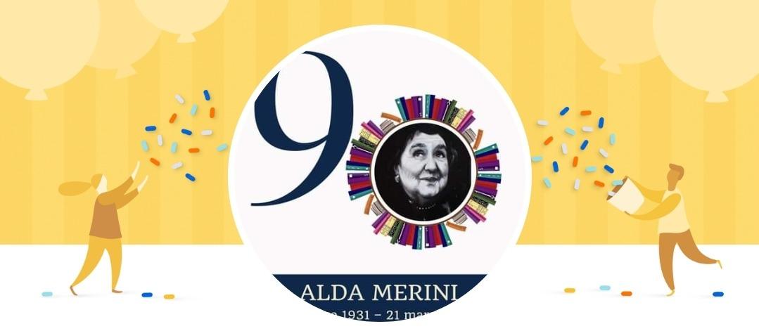 90 anni Alda Merini