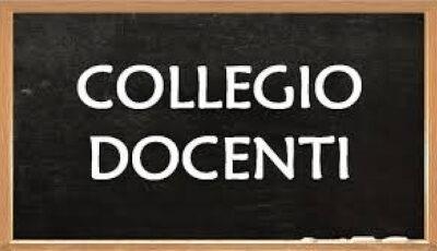 Convocazione Collegio Docenti del 25.01.2021
